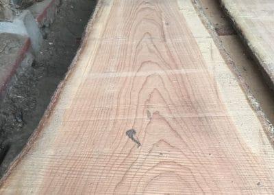 rå douglas planke